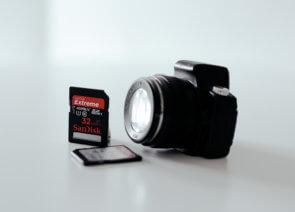 Как избежать потери фотографий с карты памяти